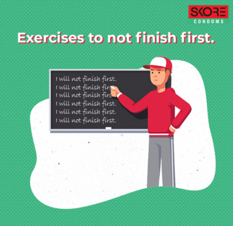 Exercise to increase sex time